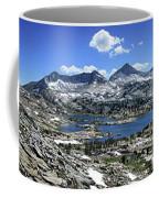 Marie Lake Panorama From High Above - John Muir Trail Coffee Mug