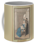 Marie Louise Petit At The Age Of 105, With Her Young Nurse Coffee Mug