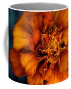 Marigold On Blue Coffee Mug