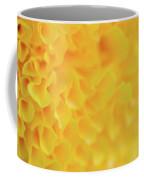 Marigold Texture Coffee Mug