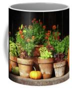 Marigolds And Pumpkins Coffee Mug