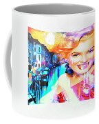Marilyn In Italy Coffee Mug