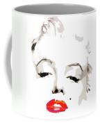 Marilyn Monroe Minimalist Coffee Mug