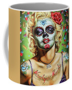 Marilyn Monroe Jfk Day Of The Dead  Coffee Mug