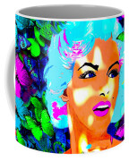 Marilyn Monroe Light And Butterflies Coffee Mug