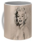 Marilyn Monroe Coffee Mug by Ylli Haruni