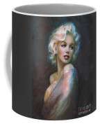 Marilyn Romantic Ww Dark Blue Coffee Mug