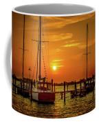 Marina Sunset Coffee Mug