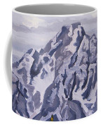 Marina's Edge, Jenny Lake, Grand Tetons Coffee Mug by Erin Fickert-Rowland