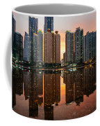 Marine City Sunset Coffee Mug
