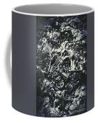 Marine Elemental Abstraction Coffee Mug