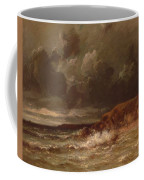 Marine Landscape The Cape And Dunes Of Saint Quentin 1870 Coffee Mug