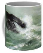 Marine Storm Sea 1911 Coffee Mug