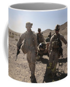 Marines Transport A Simulated Downed Coffee Mug