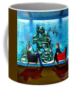 Marinelife Observing Couple Sitting In Chairs Coffee Mug