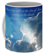 Mark 13 26 Coffee Mug