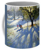 Markeaton Park Early Snow Coffee Mug