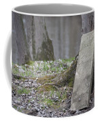 Marker Chained To Tree Coffee Mug