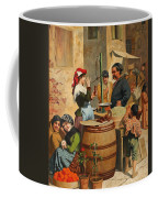 Market Scene In Trieste Coffee Mug