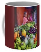market stall in Nicaragua Coffee Mug