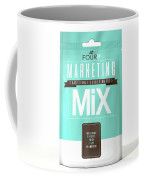 Marketing Mix 4 P's Coffee Mug