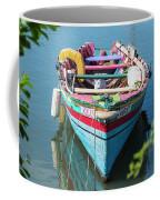 Marley Rowboat Rodney Bay Saint Lucia Coffee Mug