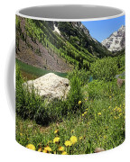 Maroon Bells In Summer 2 Coffee Mug