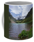 Maroon Bells Spring Coffee Mug