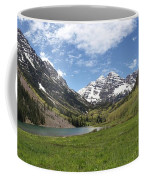 Maroon Bells Trail Panorama Coffee Mug