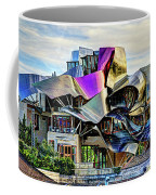 marques de riscal Hotel at sunset - frank gehry Coffee Mug