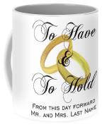 Marriage Vows Coffee Mug