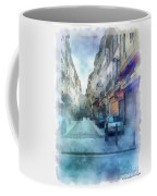 Marseille Back Street Coffee Mug