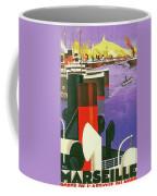 Marseille, City Harbor, France Coffee Mug