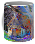 Marsh Berea Mb Church In Color Coffee Mug