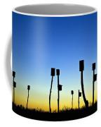 Marsh Birdhouses Coffee Mug