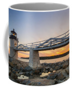 Marshall Point Light Sunset Coffee Mug