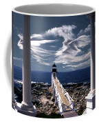 Marshall Point Lighthouse Maine Coffee Mug by Skip Willits