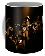 Marshall Tucker Winterland 1975 #12 Enhanced In Amber Coffee Mug