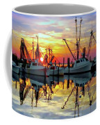 Marshallberg Harbor Sunset Coffee Mug