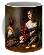 Martha And Mary Magdalen Coffee Mug