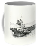 Martha Foss Log Assist Coffee Mug