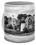 Hyannis Lighthouse Bw Coffee Mug