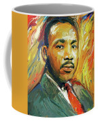Martin Luther King Portrait 2 Coffee Mug