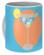 Martini Beach Coffee Mug