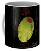 Martini Olive Coffee Mug