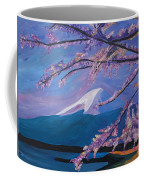 Marvellous Mount Fuji With Cherry Blossom In Japan Coffee Mug
