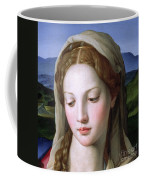 Mary Coffee Mug by Agnolo Bronzino