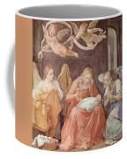 Mary And Angels 1611 Coffee Mug