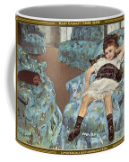 Mary Cassatt-little Girl In A Blue Armchair1878 Po Amp 059 Mary Cassatt Coffee Mug