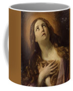 Mary Magdalene In Ecstasy At The Foot Of The Cross 1629 Coffee Mug